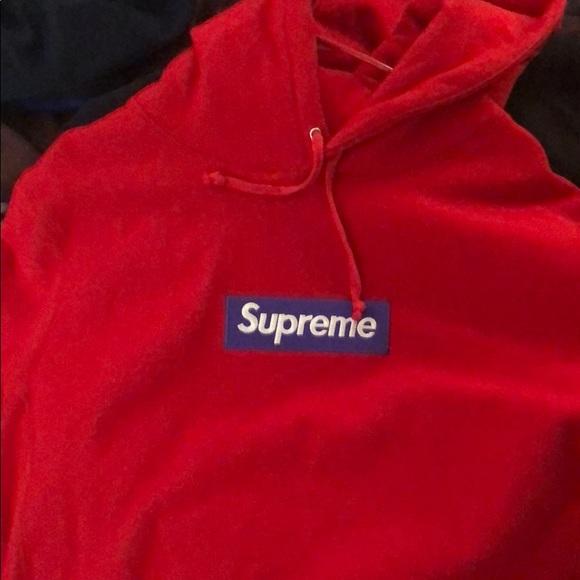 0e09f016e06e Supreme box logo hoodie xl